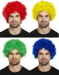 Clown Wig in assorted colours