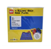 Lego Brick Building Plate (32 x 32) - [ PACK OF 4 ]