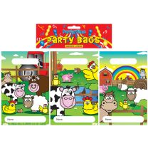 12 Farm Animals Themed Party Bags