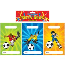 12 Football Themed Party Bags
