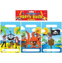 12 Pirate Themed Party Bags