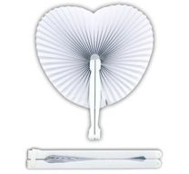 Heart Shaped Paper Fans