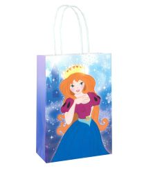 Ice Frozen Princess Party or Food Bag