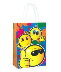 Smiley Emoji Paper Party Bag