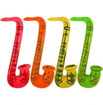 Inflatable Neon Saxophone